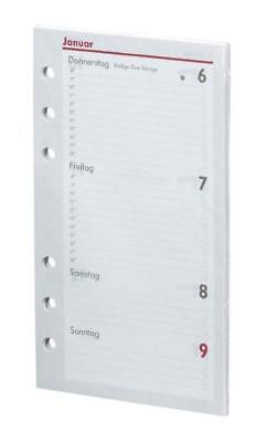 bsb Kalendarium Timer ca A6 16,8x9,5cm 1Woche/2Seiten 2018 Kalender Einlagen A6