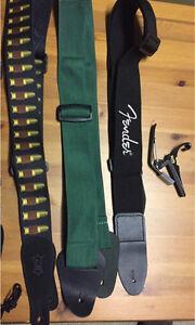 , capo or guitar straps