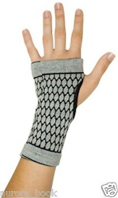 Bamboo Charcoal Carpal Tunnel Glove Wrist Brace Support Medium WA51749 ()