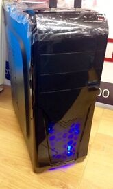 SUPER FAST GAMING PC A10 QUAD CORE R7 8GB RAM 1TB HDD WIN 7 WIFI FREE DOORSTEP DELIVERY MINECRAFT