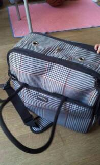 Puppia Dog Checked Carrier/Bag Portable Parkville Melbourne City Preview