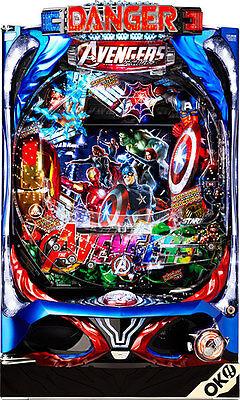 AVENGERS MARVEL Pachinko Machine Japanese Slot Pinball IRONMAN THOR Capt America