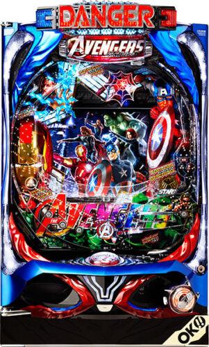 AVENGERS MARVEL Pachinko Machine Japanese Slot Pinball IRONMAN NYCC Capt America
