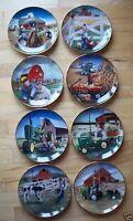 "New Price - Complete set of 8 Danbury Mint ""Little Farm Hands"""
