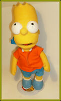 Collectible BART SIMPSON - Stuffed Toy w/stand - 16 inches