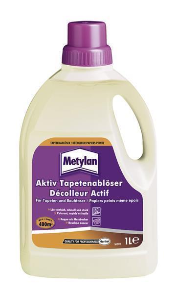 Metylan Aktiv Tapetenablöser 1 Liter Tapeten Entferner Ablöser
