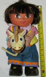 Fisher Price Cowgirl Dora the Explorer Talking / Moving Doll