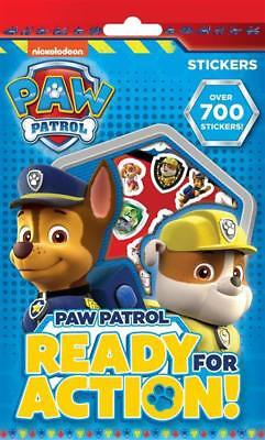 Paw Patrol Party Games (Paw Patrol 700 Assorted Stickers Children's Party Bag Stocking Filler)