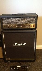 Marshall Mode Four head and 1960 lead cabinet