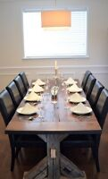 Handcrafted Harvest Dining Table - $2,500 OBO - NEED TO SELL