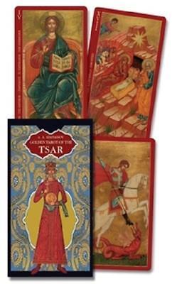 The Golden Tarot of the Tsar Gold Foil Russian miniaturists  Christian Saints