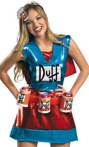 The Simpsons Duff Woman costume