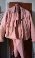 Pink Riding Leathers - reduced price