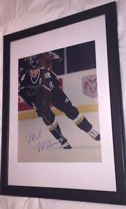 Mike Modano Autographed Dallas Stars 16x20 Framed