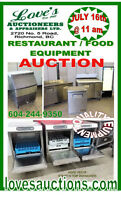 RESTAURANT EQUIPMENT AUCTION - THURS. JULY 16th @ 11 am