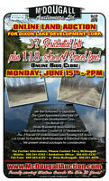 LAND AUCTION for Dixon Lake: 37 Residential Lots & 118.15 Acres
