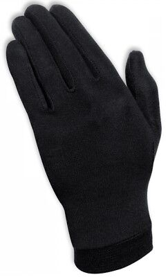 Super Held Handschuhe (Held Unterzieh Handschuhe aus reiner Seide super Temperaturregulierung schwarz)
