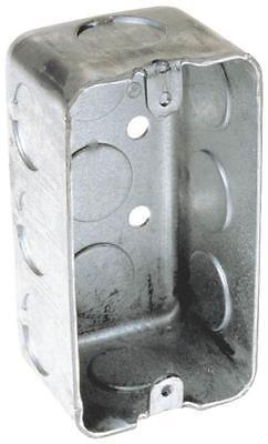 New Lot 6 Raco 8660 Metal 1 78 1 Gang Handy Box Electrical Boxes 6151914