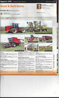 Unreserved Farm Auction - Brent Burns  August 6, 2015  11:00 AM
