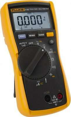 Fluke 116 Cat Iii 600 Vacvdc Digital True Rms Auto Ranging Manual Ranging...