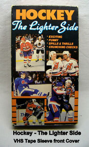 Hockey The Lighter Side – VHS tape, NHL licensed product