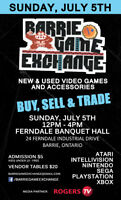 Barrie Game Exchange TOMORROW!!