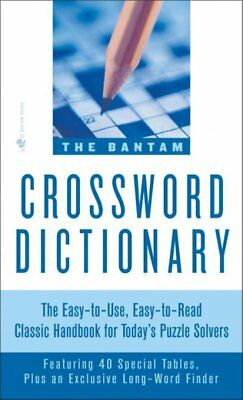 - Bantam Crossword Dictionary, Paperback by Glanze, Walter D. (EDT), ISBN 05532...