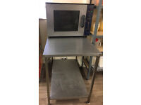 Lincat Commercial convaction Oven 3 tray fulling working order with table