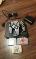 n64 with 2 or 3 games depends