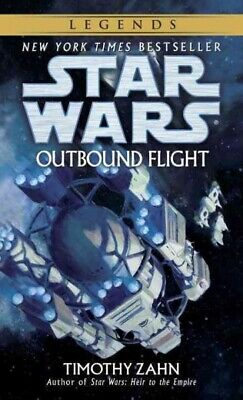 Star Wars: Outbound Flight, Paperback by Zahn, Timothy, Like New Used, Free P...