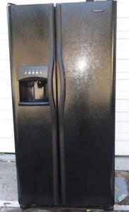 Frigidaire Double Door Fridge - excellent condition, ice/water
