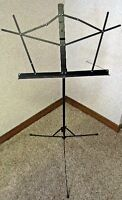 Portable/folding Belmonte music stand