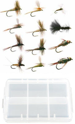 14 1//4 dozen 16 or 18 * Trout Fly Sulphur Usual Dry Flies #12 per 3