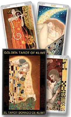 Golden Tarot of Klimt Mini Deck  *100% to CAT-atude Sanctuary Animal Rescue