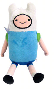 Adventure Time Finn Plush With backpack!