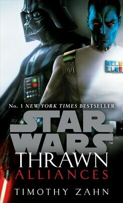 Star Wars - Thrawn - Alliances, Paperback by Zahn, Timothy, Like New Used, Fr...