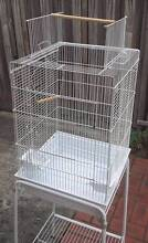Bird Cage with Stand - for Parrot,Cockatiel, Budgie, opening roof Watsonia Banyule Area Preview