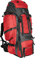 Outbound Bamfield 75 Liter Expedition Backpack (Red, Large)