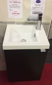 Ex - Display New York wall mounted basin unit