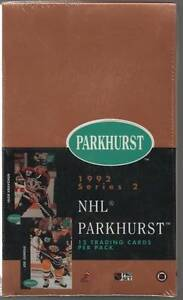 1991-92 PARKHURST ... SERIES 2 ... SEALED BOX .. with HASEK RC ?