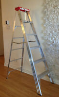 Escabeau aluminium 6 pieds Aluminium 6 foot step ladder