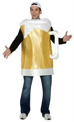 ADULT FROSTY BEER MUG GLASS PARTY HALLOWEEN COSTUME GC7075 (Beer Glass Costume)