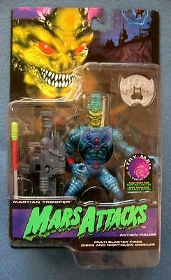 Martian Trooper With Multi-blaster Mars Attacks Trendmasters 1996 Figure