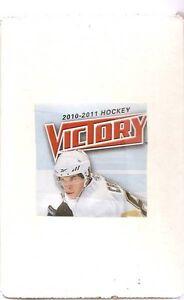2010-11 Upper Deck Victiory Set (250 cards - 50 RCs)
