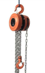 Chain block, telescopic ladder, industrial scale, crane scale,