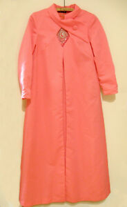 Robe rose vintage avec manteau Murray G Sophisticate