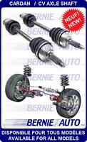 NEW AXLES WITH WARRANTY / CARDANS NEUF AVEC GARANTIE