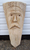 Chainsaw carving Tree Spirit