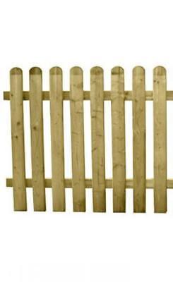 Cancello in legno trattato per esterno 80 x 100 arredo giardino casa cancelli