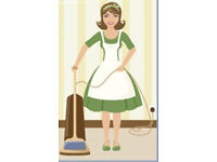 Cleaning for standoffish people, too